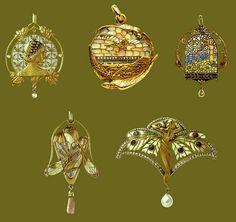 Qual a diferença entre Art Nouveau e Art Dèco
