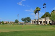 Oakwood Country Club in #sunlakesaz - Oakwood's chipping and putting facility. See the Sun Lakes lifestyle video.