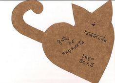 gato de maçaneta molde retirado da net | Flickr - Photo Sharing!