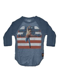 Pops would love this for wolf Springsteen Raglan Tee by Trunk LTD on Gilt