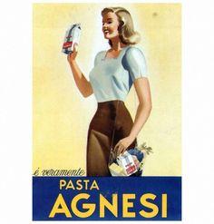 Pastasciutta italiana Pasta Agnesi