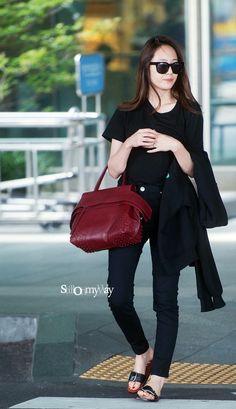 160711 f(x) Krystal | Incheon Airport