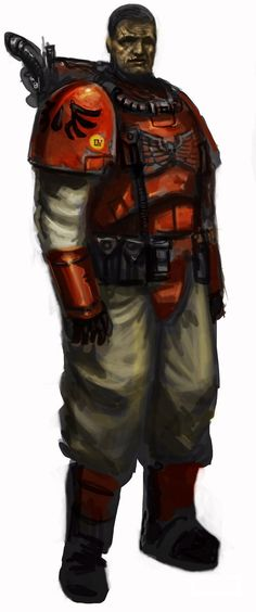 Blood Angels scout