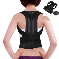 Adjustable Shoulder Back Brace Belt Posture Corrector Women Support Brace Women & Men