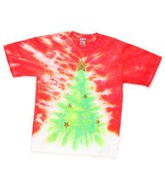 Twinkling Tie-Dye Tree T-Shirt