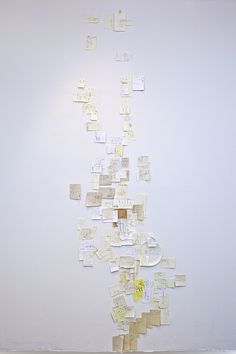 A Map of Manhattan Using Only Handwritten Directions From Strangers by Nobutaka Aozaki