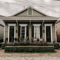 New Orleans Homes, New Orleans Louisiana, Old Southern Homes, Southern Architecture, Small House Plans, Victorian Homes, Curb Appeal, House Tours, House Design