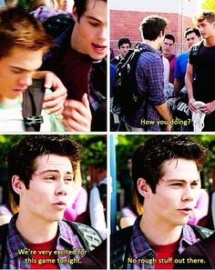 Haha. You try Stiles, you really do.