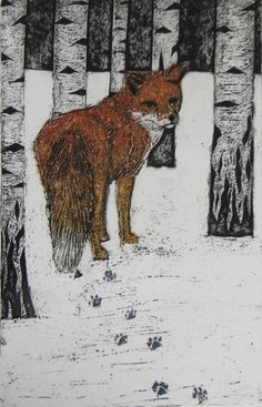 In England 60 years ago while delivering papers in a rural unpopulated are at about 7am. I saw a fox walking across a field of deep snow.......I have never forgotten it, I was about 10 at the time.