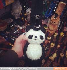 Fuzzy panda bong!