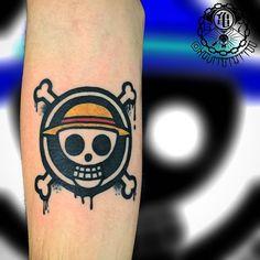 One Piece Man, One Piece Anime, One Piece Tattoos, Tattoos For Guys, Surfboard Drawing, Digimon Tattoo, Tattos, Sleeve Tattoos, Skull