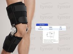 Tynor Orthopedic Hinged ROM Sports Flexion Extension Post-OP Knee Brace Support…