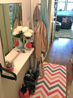 Small Space Lessons: Floorplan and Solutions from Nicole's Pretty Adorable