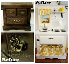 The Simple Life: { DIY } Play Kitchen
