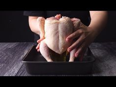 Pollo alla birra cotto al forno con marinatura gustosa - YouTube