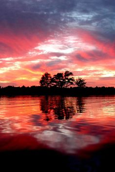red lake....color all around us, Thank  you for such a Beautiful World....Dear Lord.