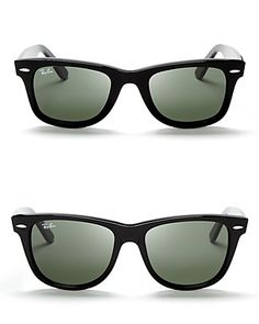 Forever a favorite, Ray-Ban wayfarers belong in every accessory collection…