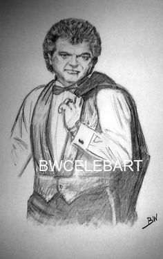 CONWAY TWITTY  ORIGINAL PENCIL DRAWING COUNTRY MUSIC LEGEND HELLO DARLIN' #Realism