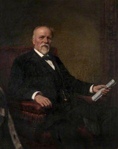 Former Bailie Walter Paton (1838–1906) - Robert Cree Crawford
