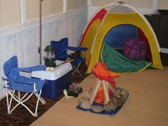 dramatic play camping - Google Search