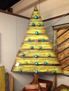 Mejores 9 Imagenes De Palets Ideas Arboles De Navidad En - Ideas-arboles-de-navidad