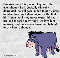 I love Eeyore