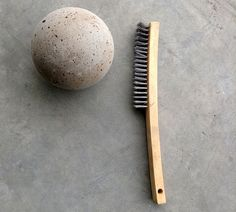 concrete garden globes DIY step by step.