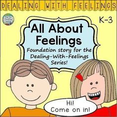 All About Feelings children's story introducing a variety of feelings excited… Teaching Kindergarten, Teaching Kids, Teaching Resources, Classroom Resources, Kids Learning, Social Skills Activities, Hands On Activities, Elementary Education, Elementary Teacher