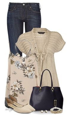 A fashion look from March 2015 featuring Dorothy Perkins cardigans, Dorothy Perkins tops and Levi's Made & Crafted jeans. Browse and shop related looks. Mode Outfits, Fashion Outfits, Womens Fashion, Fashion Trends, Casual Fall Outfits, Spring Outfits, Spring Summer Fashion, Autumn Winter Fashion, Work Fashion