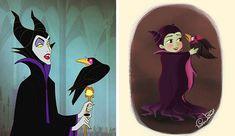 Disney Villains as Little Kids Women Villains, Disney Villains, Disney Movies, Disney Characters, Frozen Disney, Disney Diy, Walt Disney, Disney Stitch, Lilo And Stitch