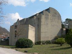 Church of the Assumption of Mary, Riola di Vergato, Italy / Alvar Aalto
