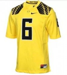 Portland OR Merchandise    Nike  OregonDucks  6  Football  Jersey Size 10350aecf676c