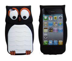 Leegoal(TM) Owl Designs Cute Cartoon Silicone Case Back Cover Skin for Apple iPhone 4 4S Black leegoal http://www.amazon.com/dp/B006UNQR6M/ref=cm_sw_r_pi_dp_kiwCub1E2V38Z