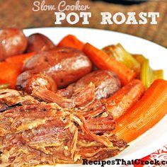 Slow Cooker Pot Roast - Recipes That Crock!