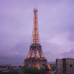 """""""#eiffeltower #cityoflights #clouds #sky #paris #toureiffel #nikon #d7100"""""""