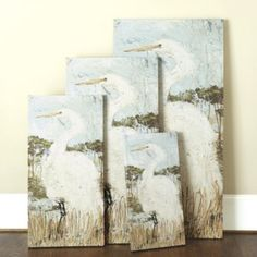 For Master Bath?  Are you only doing authentic art now?  White Heron Art