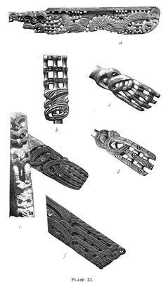 Journal of the Polynesian Society: Evolution Of Certain Maori Carving Patterns, By Gilbert Archey, P Hawaiian Tribal Tattoos, Samoan Tribal Tattoos, Maori Tattoos, Polynesian People, Polynesian Art, Maori Symbols, Maori Patterns, Cross Tattoo For Men, Maori Designs
