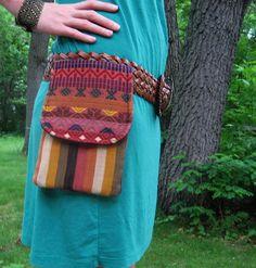 Mexicali Utility Belt/ Fanny Pack/ Hip Bag by SunshineShakedown, $24.99