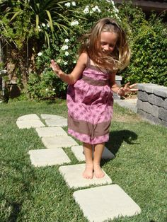 (I think this would be a fun do-it-yourself project. Especially if there are little girls at home)Hey, I found this really awesome Etsy listing at https://www.etsy.com/listing/183448372/hopscotch-stepping-stones-set10-original