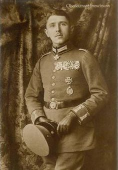 Imperial German air ace Captain Immelmann. Creator of the Immelmann  'turn', a manouevre that led to many kills until he met someone who could do the 'turn' better than him.