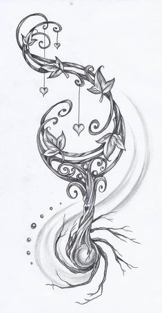 Roots by on DeviantArt - New Ideas Cute Tattoos, Beautiful Tattoos, Body Art Tattoos, Sleeve Tattoos, Tatoos, Dj Tattoo, Gear Tattoo, Tattoo Pics, Tattoo Quotes