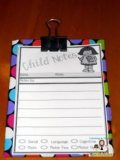 Make your own pocket size clipboard.  Great way to take all of those observation notes.