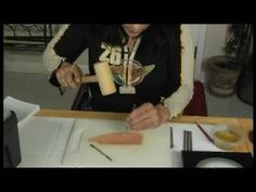 Basic Leather Working : Learn What a Camo Stamp is in Leather Working