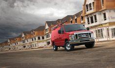 2014 Ford E-Series Cargo Van