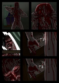 It's a Vampire!!! (page 17) by Gocce & Sejver #vampires #horror #comics #fantasy