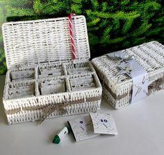 Adventskalender - Adventskaldender in einer Teebox - ein Designerstück von FrlBetty bei DaWanda