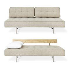 "Bedford Sleeper Lounge | Sofas & Sleepers | Gus* Modern | 76""L (slightly larger)"