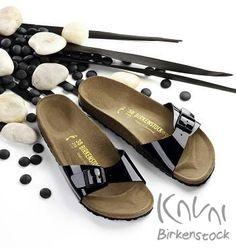 Mert nálunk a divat a kényelemmel párosul....:)    Birkenstock MADRID Black patent Kávai Birkenstock