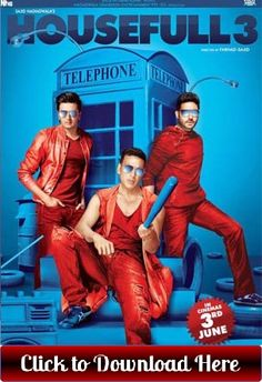 Download Housefull 3 Full movie Free with high quality audio and video HD, mp4…