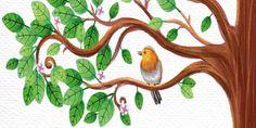 A kismadár Lev Tolsztoj elbeszélése, Aprily Lajos fordítása Farm Animals, Wild Animals, Children's Literature, Green Day, Rooster, Montessori, Saints, France, Wild Ones